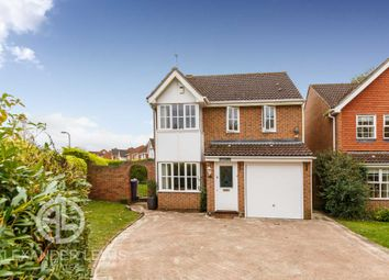 Thumbnail 3 bed detached house for sale in Quinn Way, Letchworth Garden City