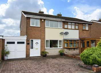 Thumbnail 3 bed semi-detached house for sale in Quinton Avenue, Great Wyrley, Walsall