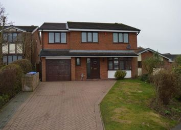 Thumbnail 4 bed detached house for sale in Holywell Rise, Boley Park, Lichfield, Staffordshire