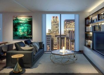 Thumbnail 1 bedroom property for sale in Maine Tower, Harbour Central, Canary Wharf, London