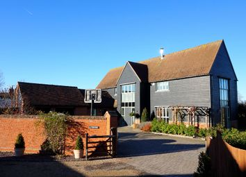 Thumbnail 5 bed barn conversion for sale in Beehive Close, East Bergholt, Colchester, Suffolk