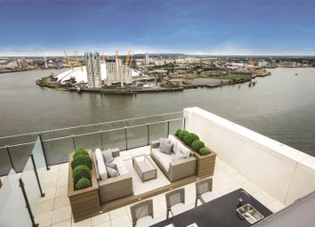 Thumbnail 2 bed flat for sale in Horizons Tower, 1 Yabsley Street, Canary Wharf, London