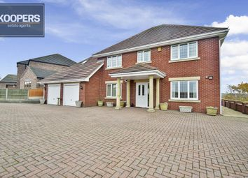 Thumbnail 4 bed detached house for sale in Wagstaff Lane, Jacksdale, Nottingham