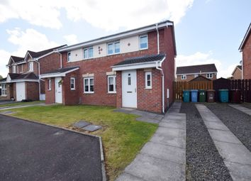 Thumbnail 2 bed semi-detached house for sale in Berryhill Crescent, Wishaw