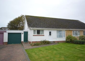 Thumbnail 2 bed semi-detached bungalow for sale in Primley Mead, Sidmouth, Devon