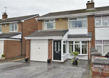Thumbnail 3 bed semi-detached house for sale in Cambourne Drive, Hindley Green, Wigan