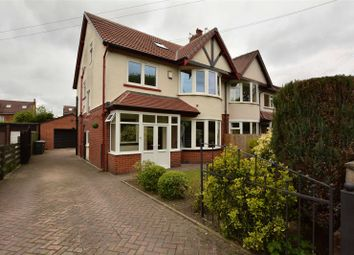 Thumbnail 5 bedroom semi-detached house for sale in Northolme Avenue, West Park, Leeds