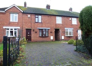 Thumbnail 3 bed terraced house to rent in Church Lane, Saxilby, Lincoln
