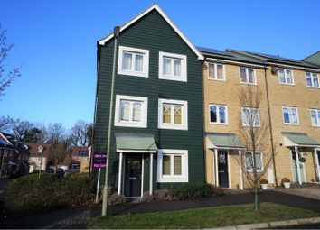 Thumbnail 4 bed town house for sale in Walker Close, Church Crookham