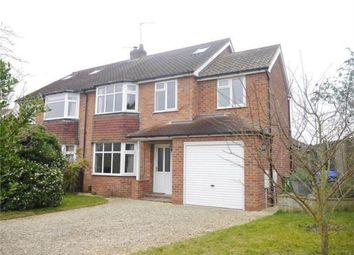 Thumbnail 5 bed semi-detached house for sale in Tisbury Road, Holgate, York