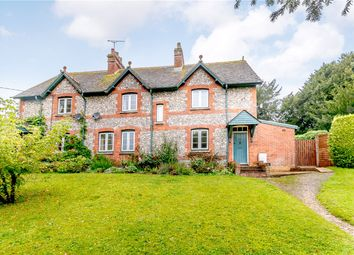 Thumbnail 4 bed semi-detached house for sale in Longstock, Stockbridge, Hampshire