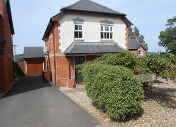 Thumbnail 4 bed detached house for sale in Summer Close, Hemyock, Cullompton