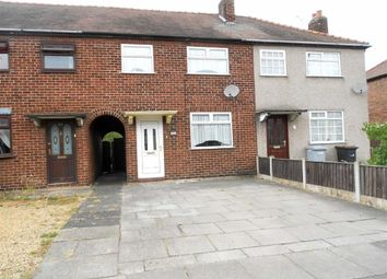 3 bed terraced house for sale in Evans Street, Crewe, Cheshire CW1