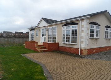 Thumbnail 2 bed bungalow for sale in Seaview Park Homes, Easington Road, Hartlepool