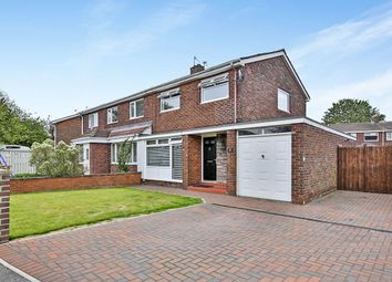 Thumbnail 3 bed semi-detached house for sale in Wardley Drive, Gateshead