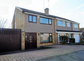 Thumbnail 3 bed semi-detached house for sale in Pits Avenue, Leicester