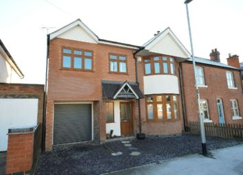 Thumbnail 3 bed semi-detached house for sale in Holyoake Street, Enderby, Leicester