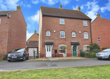Thumbnail 3 bed property for sale in East Water Crescent, Hampton Vale, Peterborough