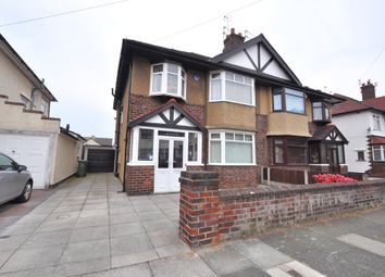 Thumbnail 3 bed semi-detached house for sale in Vyner Road, Wallasey