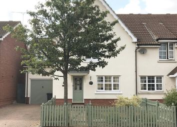 Thumbnail 4 bed semi-detached house for sale in Nightingale Close, Stowmarket