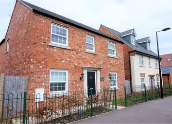 Thumbnail 4 bed detached house for sale in Long Roses Way, Leicester