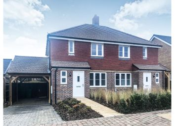 Thumbnail 3 bed semi-detached house for sale in St Lawrence Crescent, Coxheath, Maidstone
