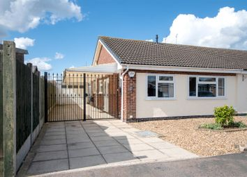 Thumbnail 2 bed semi-detached bungalow for sale in Clumber Close, Syston, Leicester