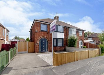 Thumbnail 3 bed semi-detached house for sale in Leabrooks Avenue, Mansfield Woodhouse, Mansfield