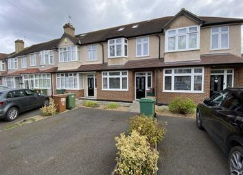 Thumbnail 4 bed terraced house to rent in Stoneleigh Avenue, Worcester Park