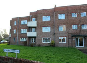 Thumbnail 3 bed flat for sale in St. Swithins Court, St Swithins Road, Bridport, Dorset