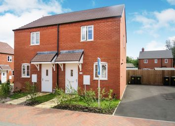 Thumbnail 2 bedroom semi-detached house for sale in The Lawns, Cranfield, Bedford