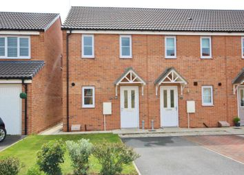 Thumbnail 2 bedroom end terrace house for sale in Blackthorn Close, Selby