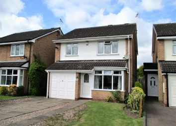 Thumbnail 3 bedroom detached house for sale in Ainsworth Road, Wolverhampton