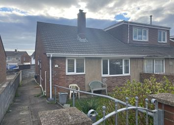 Thumbnail 2 bed semi-detached bungalow to rent in Brookside Close, Port Talbot, Neath Port Talbot.