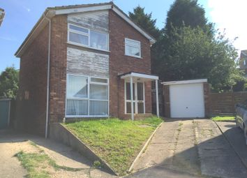 Thumbnail 3 bed detached house to rent in Okehampton Drive, Evington, Leicester