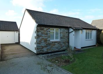 Thumbnail 2 bed detached bungalow for sale in Trehannick Close, St. Teath, Bodmin