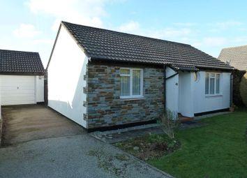 Thumbnail 2 bedroom detached bungalow for sale in Trehannick Close, St. Teath, Bodmin
