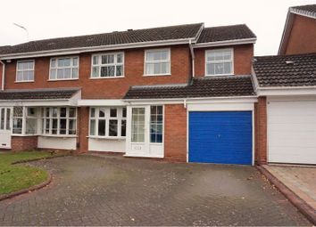 Thumbnail 4 bed semi-detached house for sale in Langcomb Road, Solihull