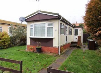 Thumbnail 1 bedroom mobile/park home for sale in Blue Sky Close, Bradwell
