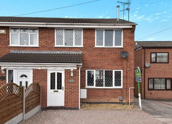 Thumbnail 3 bed semi-detached house for sale in Ingleby Close, Swadlincote