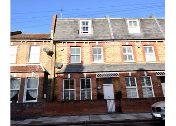 Thumbnail 4 bed terraced house for sale in Horder Road, Fulham