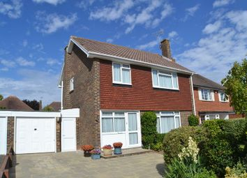 Thumbnail 3 bed detached house for sale in Falmer Close, Goring-By-Sea, Worthing