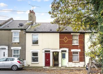 Thumbnail 2 bed terraced house for sale in Dover Road East, Northfleet, Kent