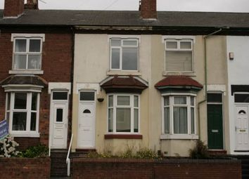 Thumbnail 3 bedroom terraced house to rent in Bloxwich Road, Leamore, Walsall