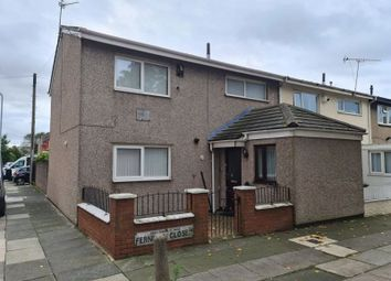 Thumbnail 4 bed end terrace house for sale in Fernhill Close, Bootle