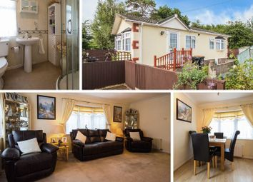 Thumbnail 2 bedroom mobile/park home for sale in Church House Park, St. Brides Wentlooge, Newport