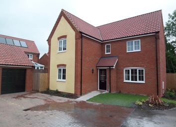 Thumbnail 4 bed detached house to rent in Blazey Drive, Wymondham