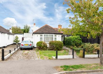 Thumbnail 3 bed semi-detached bungalow for sale in Meadway, Staines