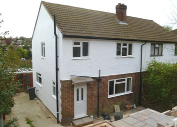 Thumbnail 3 bed semi-detached house to rent in Northwood Avenue, Purley, Surrey
