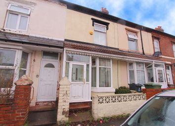 Thumbnail 3 bed terraced house for sale in Raleigh Street, Walsall